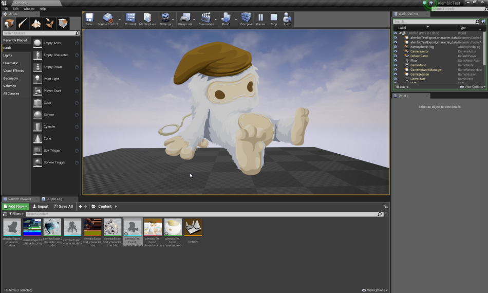 Unreal Engine C++ Runtimes - Creature