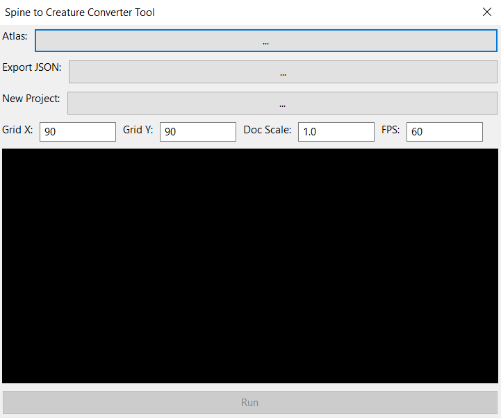 Spine To Creature Project Converter - Creature