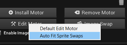 Sprite Swapping with Sprite Frame Manager - Creature