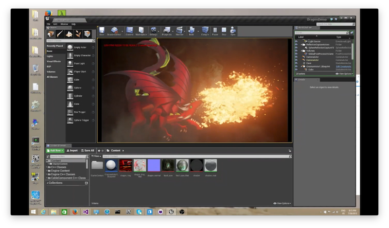 Unreal engine c runtimes creature click here to watch an in depth tutorial on how a complete dragon character with multiple animations is brought into ue4 and driven using the blueprints malvernweather