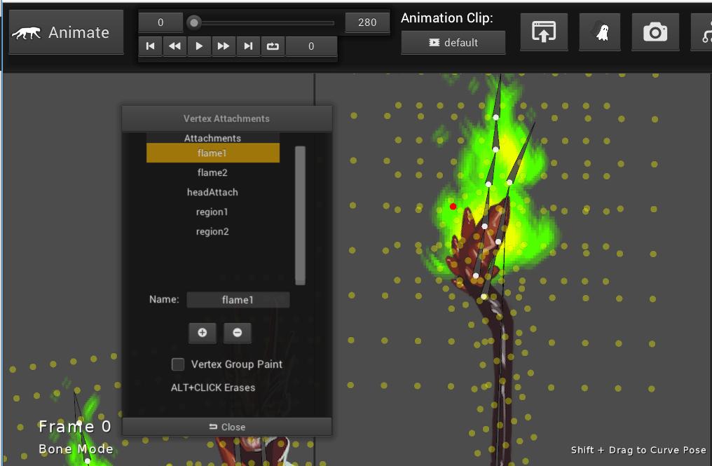 Vertex Attachments For GameEngines - Creature